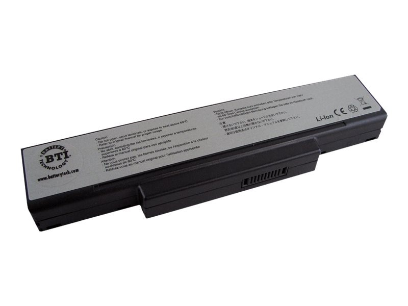 BTI Battery for A9, S62, S96, Z96 Series Notebooks, AS-A9, 8891127, Batteries - Notebook