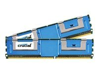 Crucial 2GB PC2-5300 240-pin DDR2 SDRAM DIMM Kit
