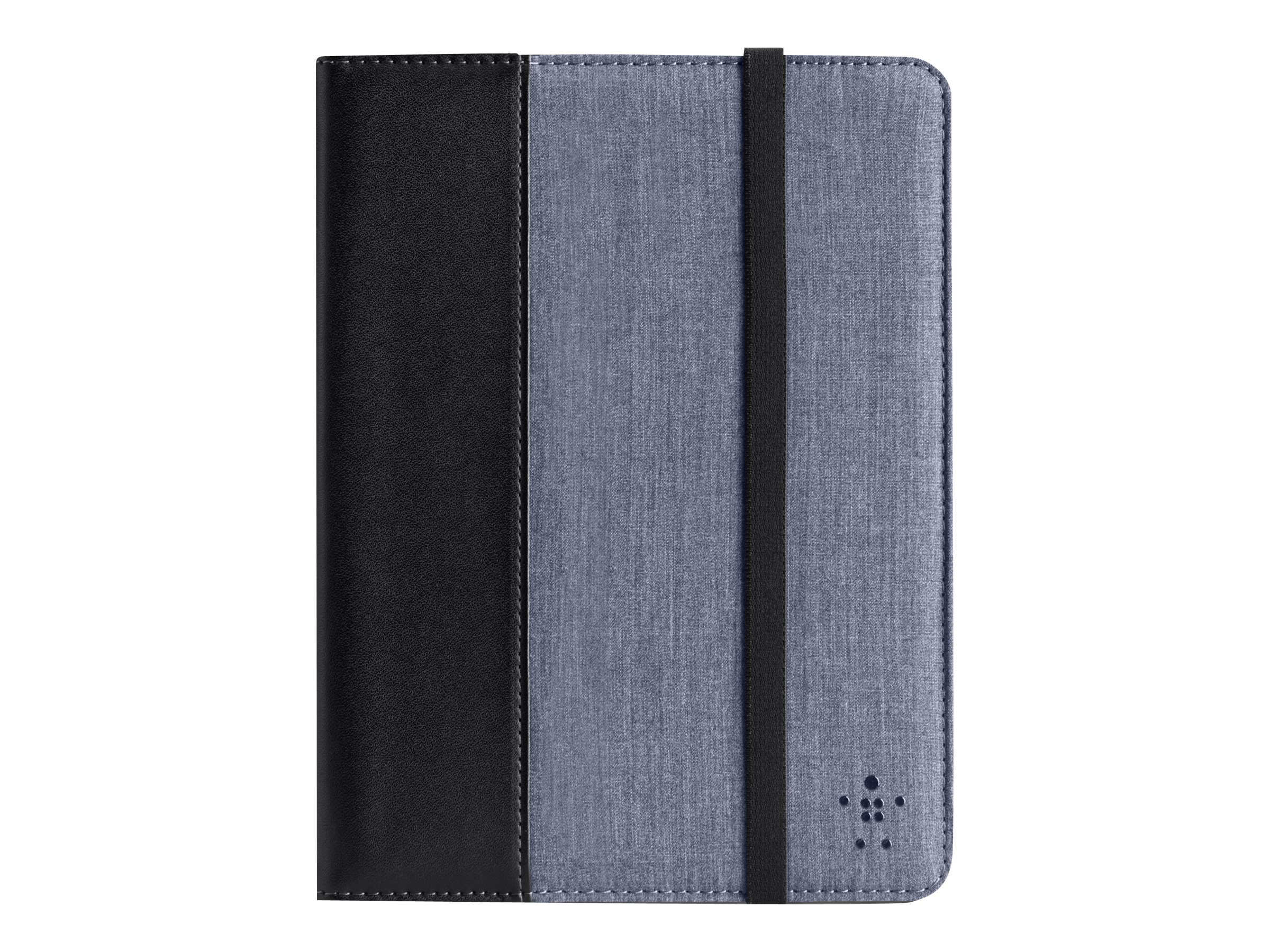 Belkin Chambray Cover with Stand for Kindle Fire HD 7, Blacktop Blue