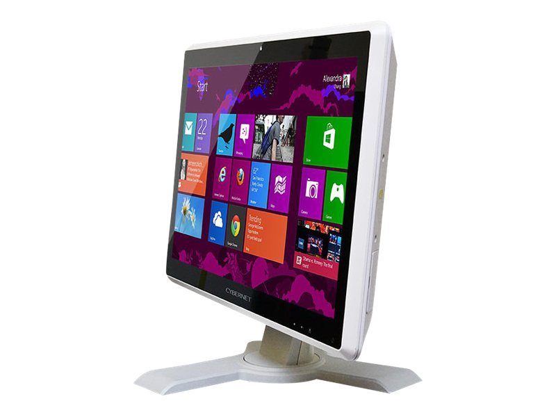 Cybernet CyberMed H24 AIO Core i3-2120 2.6GHz 4GB 250GB HD4600 GbE agn BT 24 FHD LCD Touch