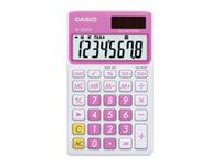 Casio Extra Large Display Time and Tax Calculator, Pink, SL-300VC-PK, 11771126, Calculators