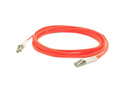 ACP-EP LC-LC 62.5 125 OM1 Multimode LSZH Duplex Fiber Cable, Orange, 15m, ADD-LC-LC-15M6MMF