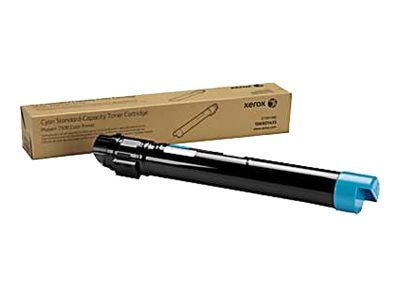 Xerox Cyan Standard Capacity Toner Cartridge for Phaser 7500 Series