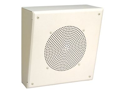 84W Slant Metal Enclosure Speaker w  Transformer