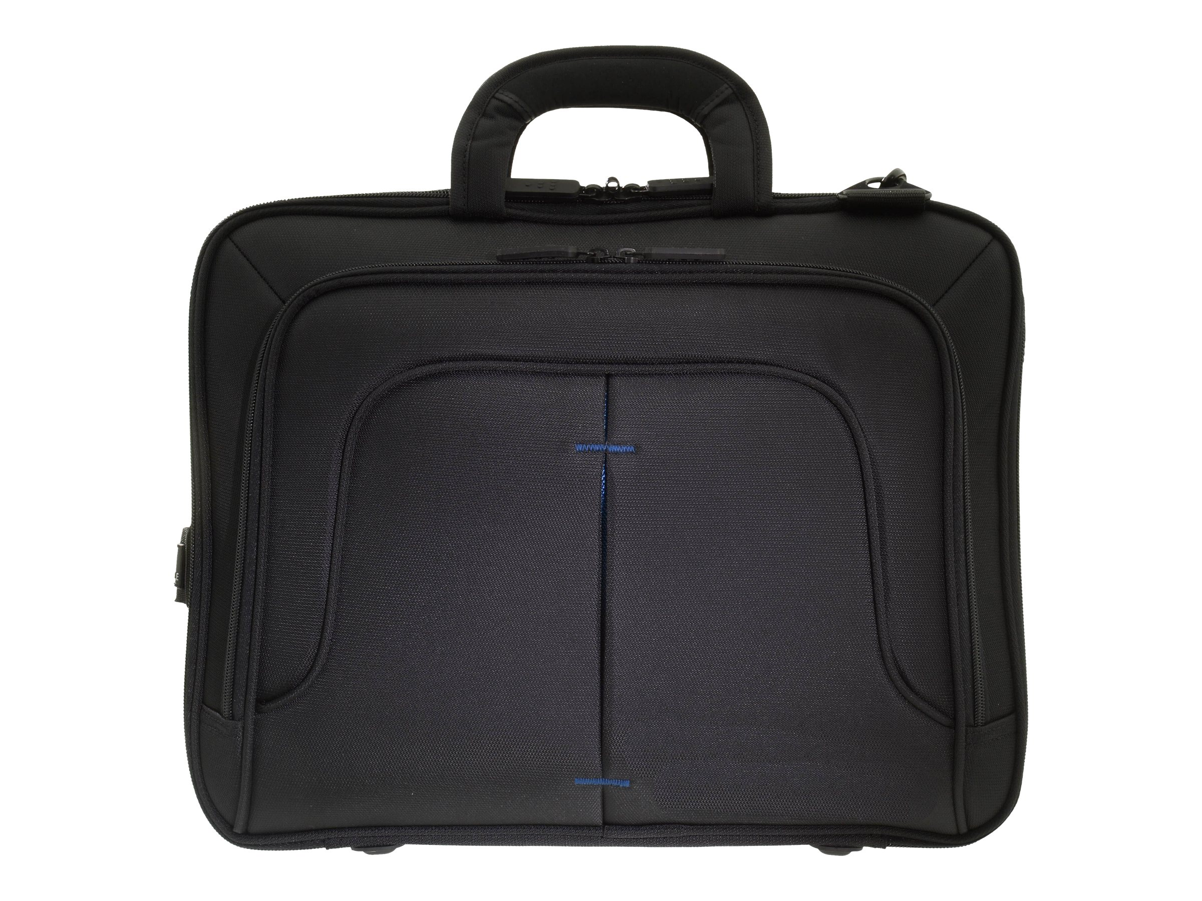 Eco Style Tech Pro Topload Case, Checkpoint Friendly, Blue, ETPR-BL15-CF, 17988650, Carrying Cases - Notebook
