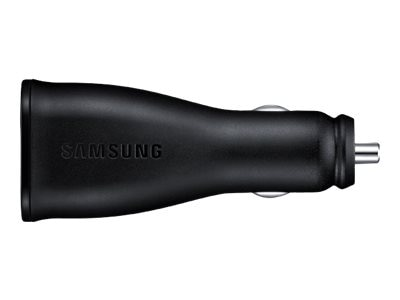 Samsung FastCharge DualPort Car Charger, EP-LN920BBEGUS