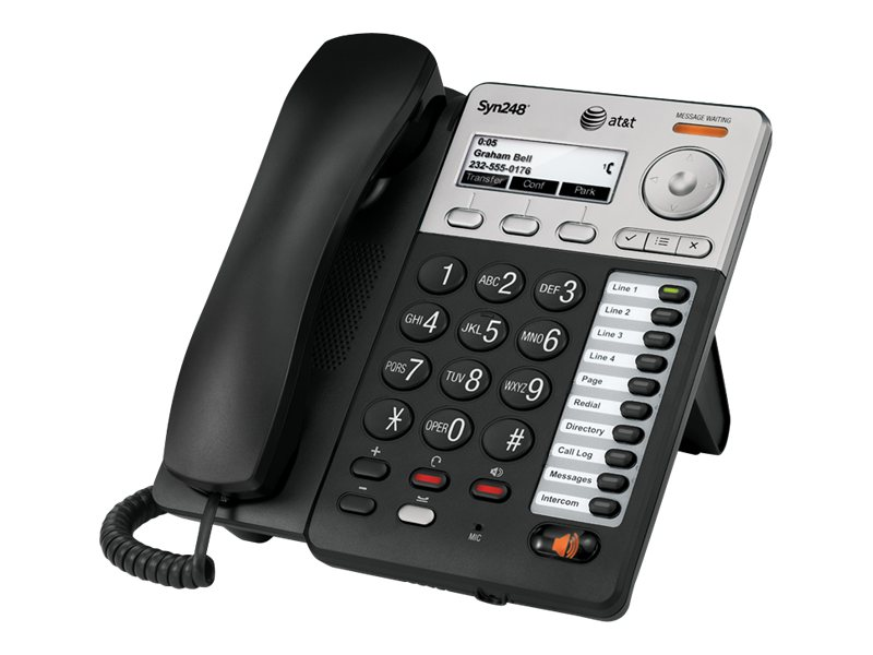 AT&T Syn248 Corded Deskset Phone, SB35025, 16348781, Telephones - Business Class