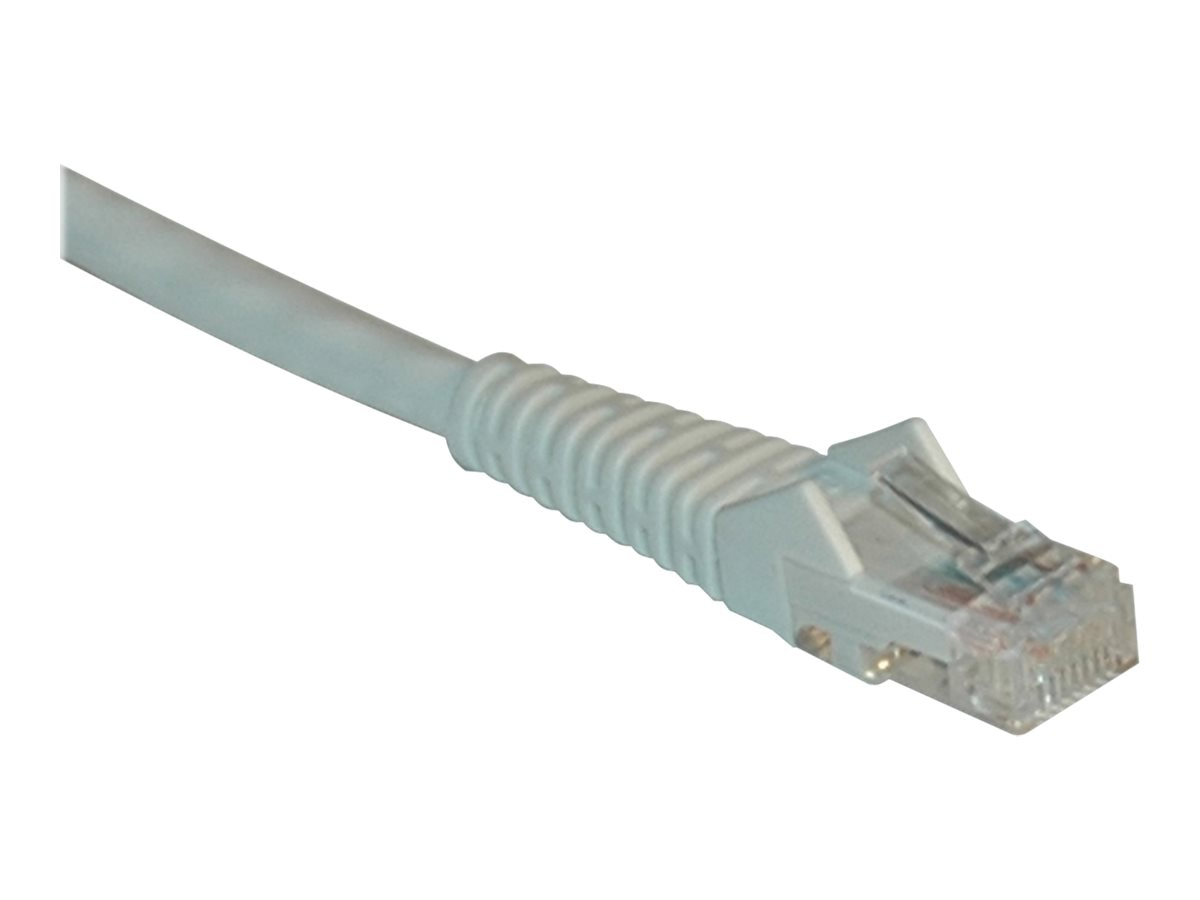 Tripp Lite Cat6 Gigabit Patch Cable, RJ-45 (M-M), Snagless, White, 2ft, N201-002-WH