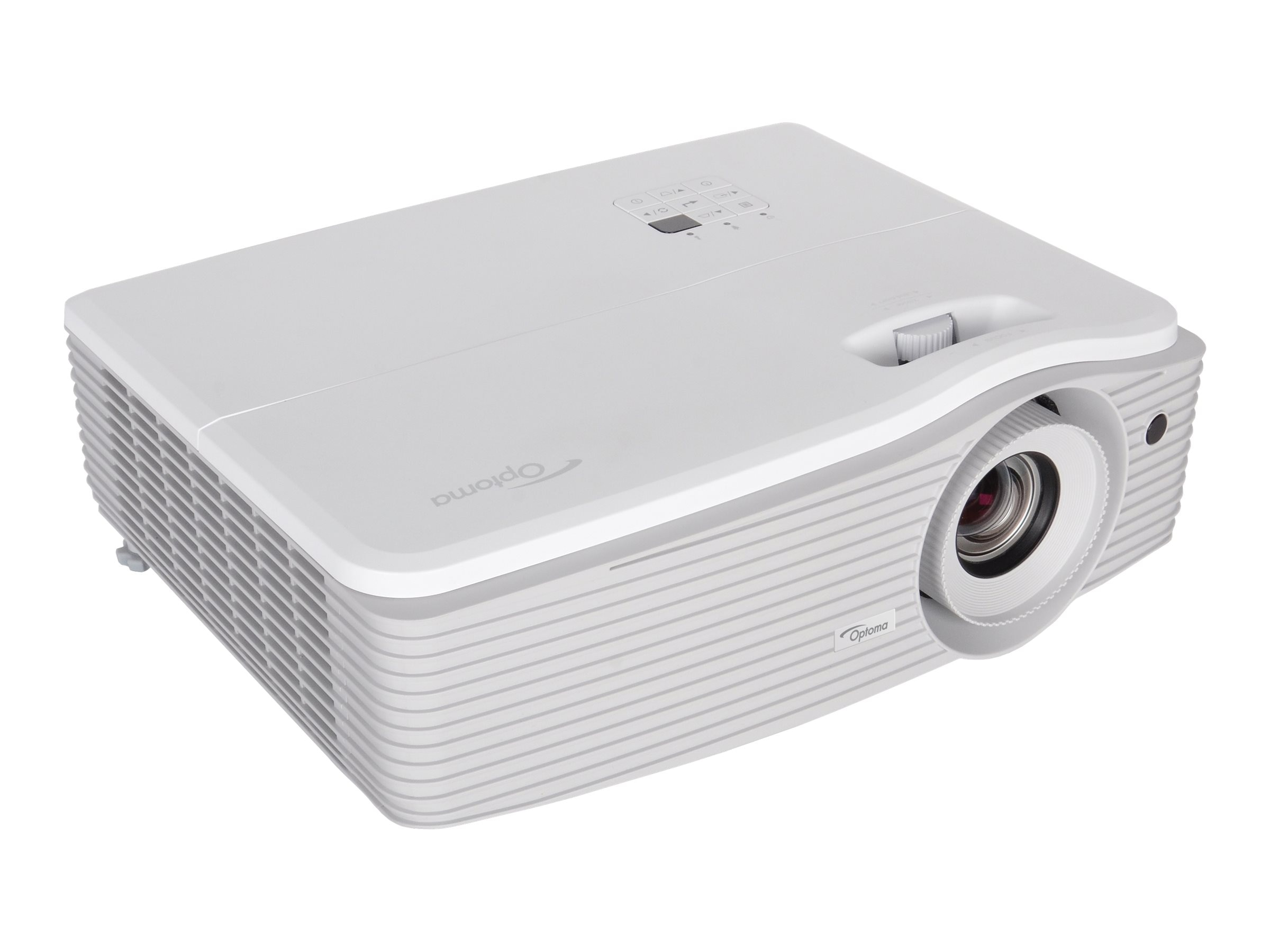 Optoma EH504 108p 3D DLP Projector, 5000 Lumens, White, EH504