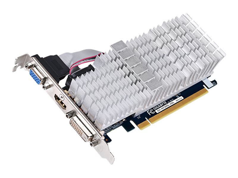Gigabyte Tech GeForce GT 730 PCIe 2.0 Graphics Card, 2GB DDR3, GV-N730SL-2GL, 30598234, Graphics/Video Accelerators