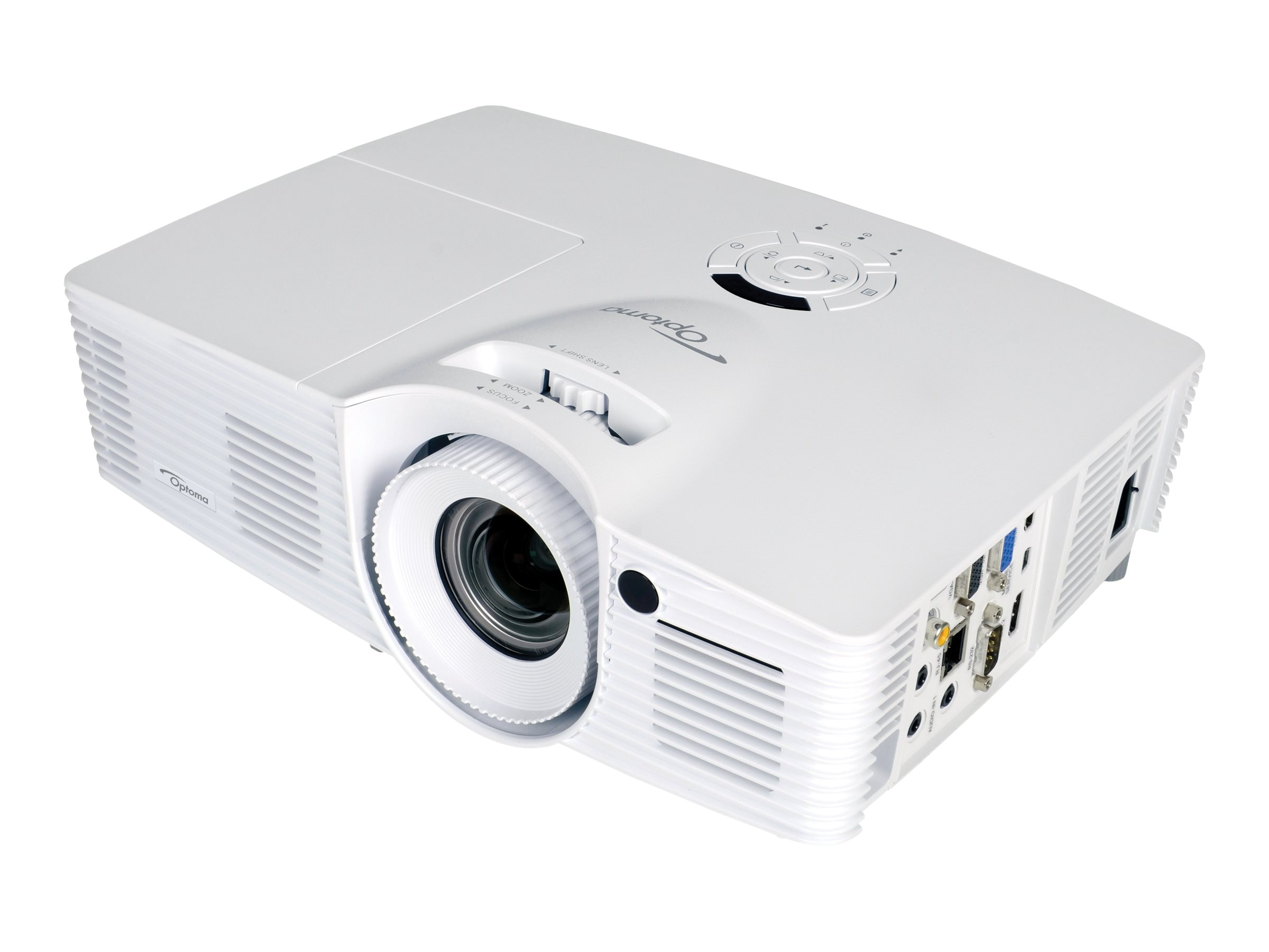 Optoma EH416 1080p DLP Projector, 4200 Lumens, White, EH416