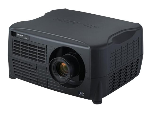 Christie DS+10K-J DLP Projector, 9350 Lumens, Black with ILS Lensmount & Yellow Notch Filter, 132-007300-01