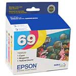 Epson Multi-pack DURABrite Ultra Ink Cartridge for Stylus CX5000 and CX6000 printer series (3 cartridges)