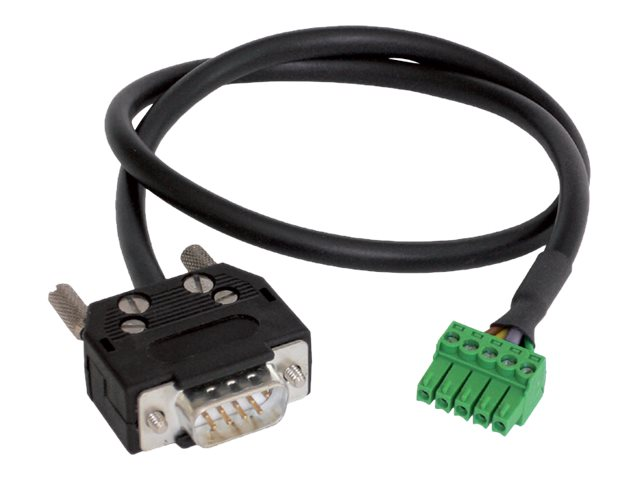 Black Box DB9 Serial Male to 3.5mm ControlBridge Input Output Cable, 3m