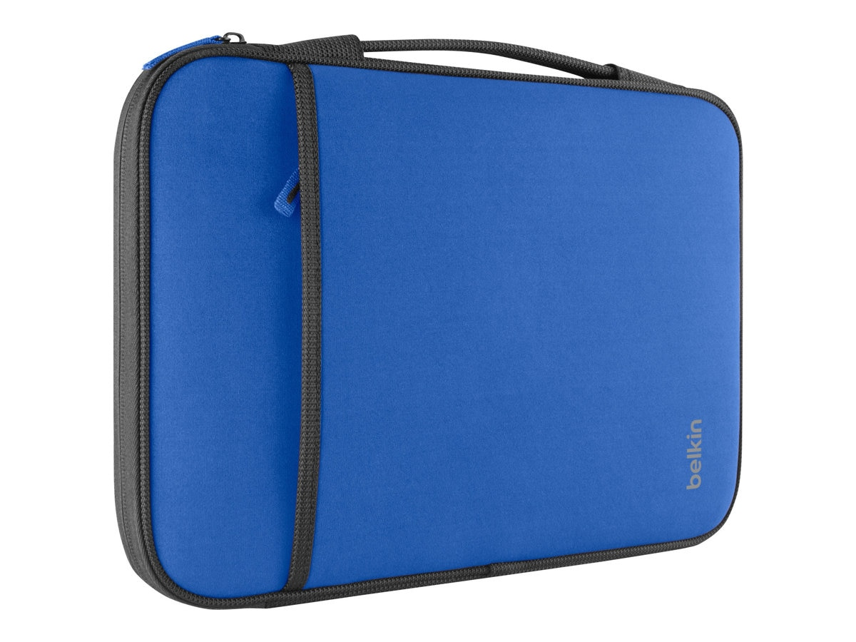 Belkin 11 Sleeve Chromebook, Ultrabook, Macbook Air, Blue, B2B081-C01