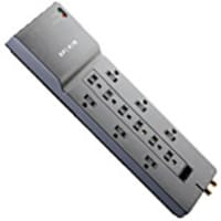 Belkin Home Office Series Surge Protector, 3940 Joules, 12-outlet, 8ft cord, with Tel   Coax Protection, BE112230-08, 7083283, Surge Suppressors