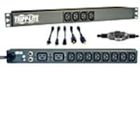 Tripp Lite PDU Basic 100V-240V 16A (12) C13 (2) C19 C20 1U RM 0U RM, PDUNV, 7085772, Power Distribution Units