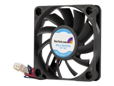 StarTech.com CPU Case Cooling Fan Motor, 6x1cm with TX3 Connectors