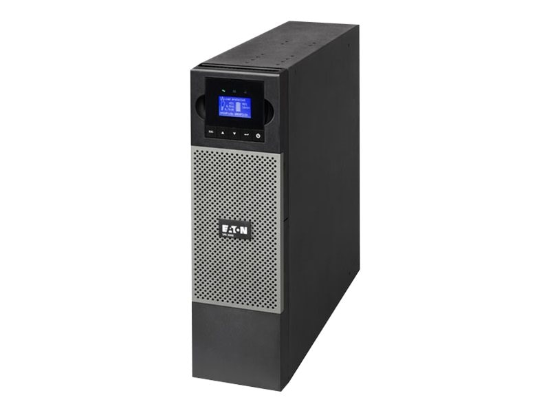 Eaton 5PX UPS 3000VA Graphical LCD Line Int. 3U R T 120V L5-30P Input 10ft (1) L5-30R (6) 5-20R Outlets, 5PX3000RT3U, 12652495, Battery Backup/UPS