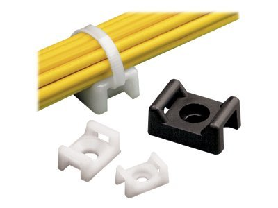Panduit Cable Tie Mounts for #8 Screws (100-Pack), TM3S8-C, 6258483, Cable Accessories