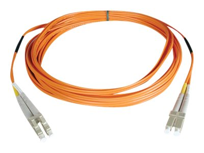 Tripp Lite Fiber Optic Cable LC-LC 50 125um Duplex Multimode 100 Meter (N520-100M), N520-100M, 6229164, Cables