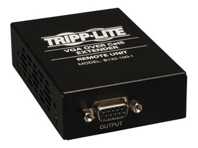 Tripp Lite VGA over Cat5 Cat6 Extender, Receiver, 1920x1440 at 60Hz, TAA, GSA, B132-100-1