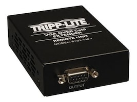 Tripp Lite VGA over Cat5 Cat6 Extender, Receiver, 1920x1440 at 60Hz, TAA, GSA, B132-100-1, 12565754, Video Extenders & Splitters