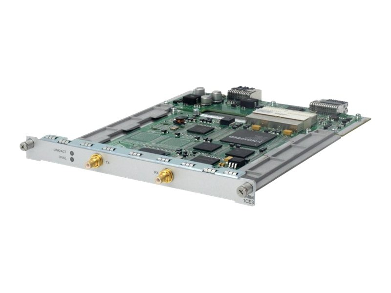 HPE MSR 1-port E3 CE3 FE3 HMIM Module, JG436A, 16332018, Network Voice Router Modules