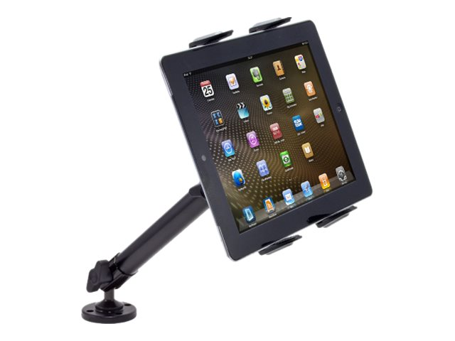Arkon Heavy Duty Tablet Wall or Counter Drill Base Mount with 10 Arm for 8.9-12.9 Tablets