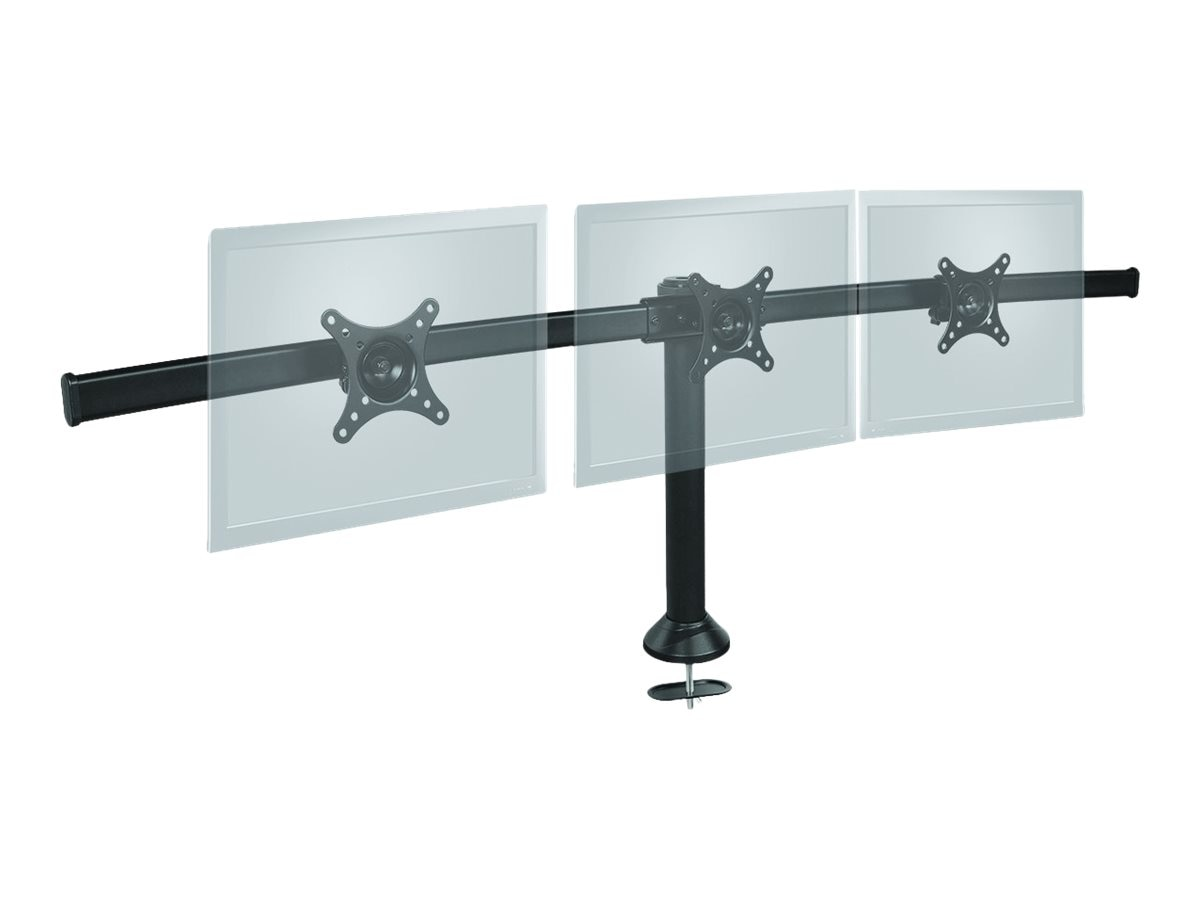Siig Triple Monitor Desk Stand for 13 to 27 Displays