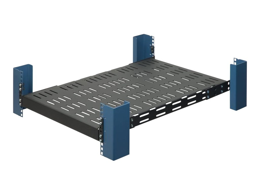 Innovation First Universal 19 Heavy Duty Rack Mount Shelf for 4Post Racks, 1USHL-116, 5285501, Rack Mount Accessories
