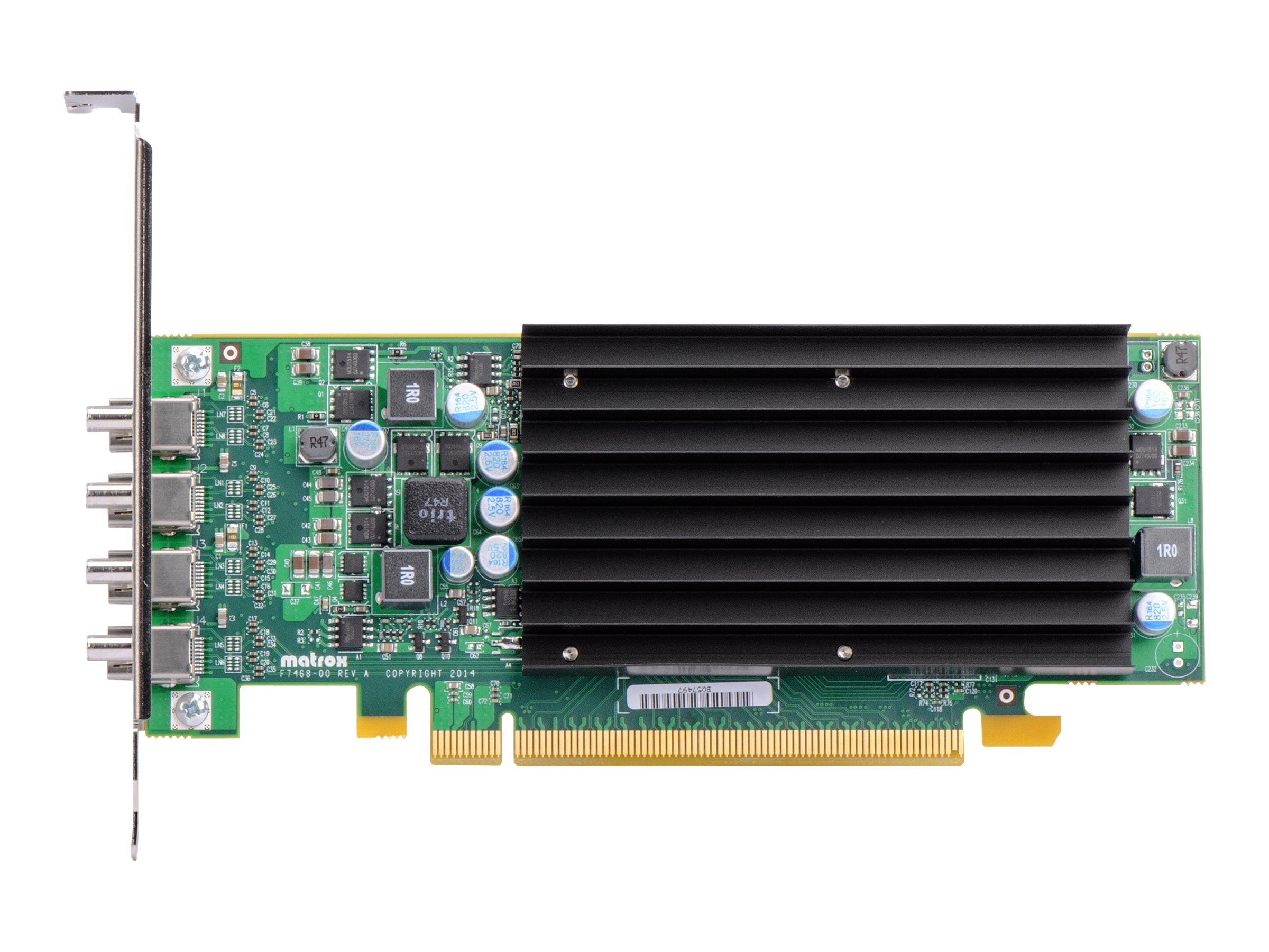 Matrox C420 PCIe 3.0 x16 Low-Profile Graphics Card, 2GB GDDR5, C420-E2GBLAF, 17822326, Graphics/Video Accelerators