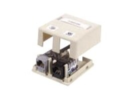 Hubbell Surface Mount Box, 2-Port, Unloaded, ISB2EI, 12187301, Premise Wiring Equipment