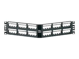 Panduit 48-Port Angled Patch Panel, UICMPPA48BLY, 32308333, Patch Panels