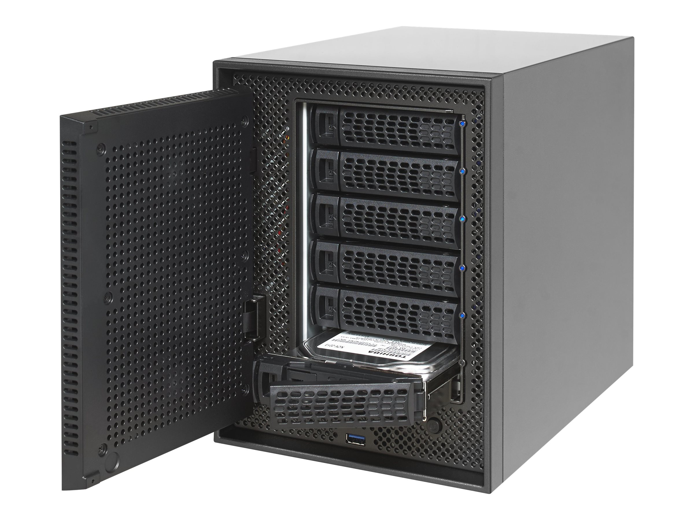 Netgear ReadyNAS 526X 6-Bay Network Storage w  6x3TB Desktop Hard Drives, RN526XD3-100NES