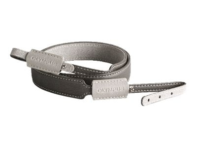 Olympus E-Z Adjustable Neck Strap, Gray, 260313, 16210846, Camera & Camcorder Accessories