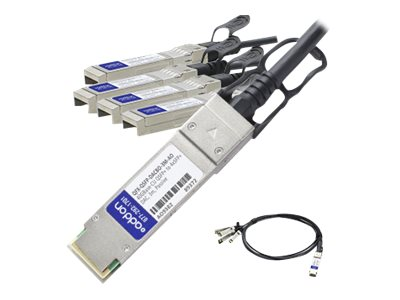 ACP-EP 40GBase-AOC QSFP to 4xSFP+ Direct Attach Cable, 3m