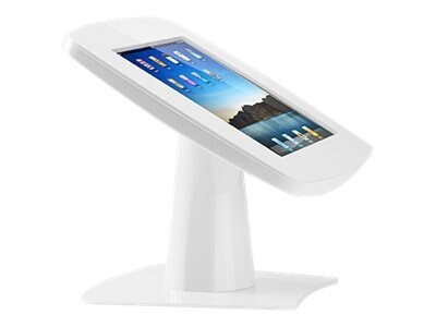 Tryten iPad Kiosk Base Plate, White, T2032W