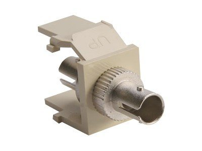 Leviton QuickPort ST Thread-Lock Fiver, 41084-SIZ, 15510100, Adapters & Port Converters