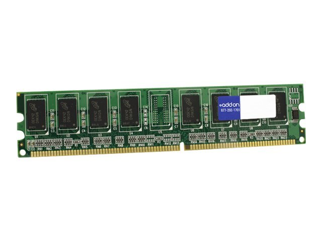 ACP-EP 1GB PC3200 184-pin DDR SDRAM DIMM for Dimension 4600, 4600C, A0740433-AA