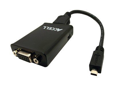 Accell Micro HDMI to VGA Adapter, J129B-002B, 13663882, Cables