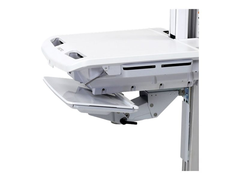 Ergotron SV Height-Adjustable Keyboard Arm, 97-827, 18125493, Cart & Wall Station Accessories