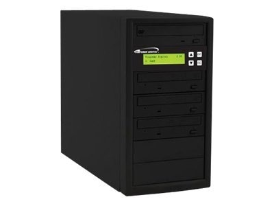 Vinpower ECON 1:3 24x DVD Tower Duplicator, ECON-S3T-DVD-BK, 15126360, Disc Duplicators