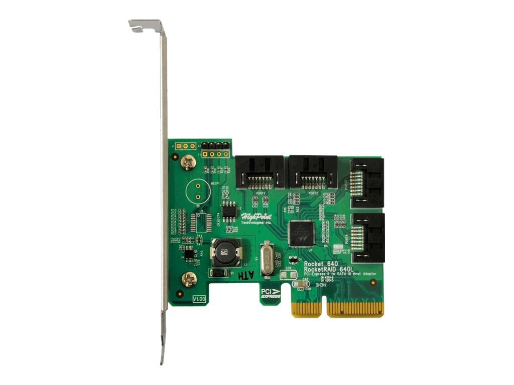 HighPoint SATA 6Gb s RAID Host Adapter, RR640L