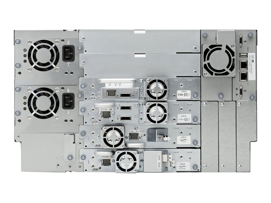 HPE StoreEver MSL6480 Scalable Base Module, QU625A