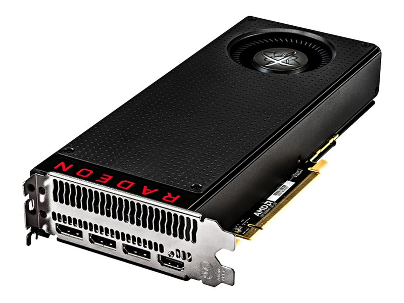 Pine Radeon RX 480 PCIe 3.0 Black Edition Graphics Card, 8GB GDDR5