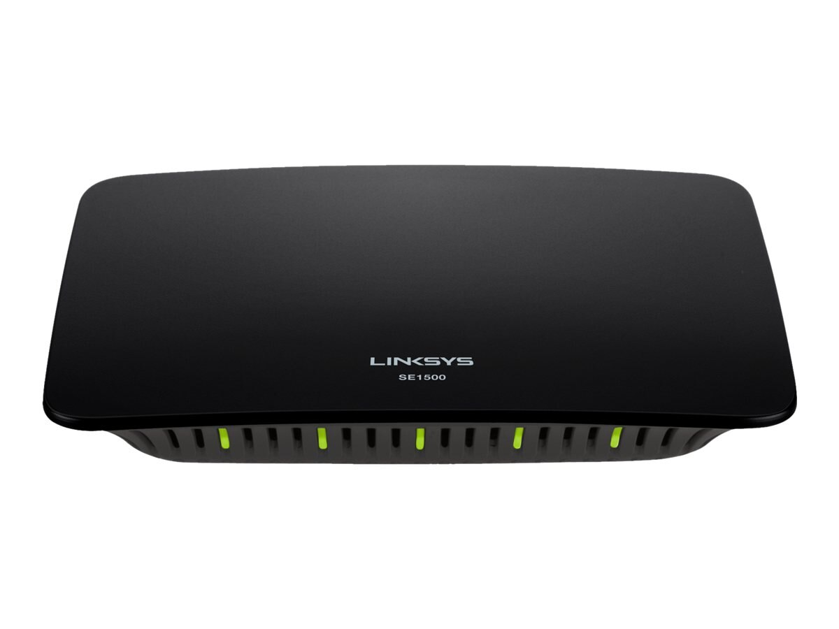 Linksys SE1500 5-Port Fast Ethernet Switch, SE1500-NP