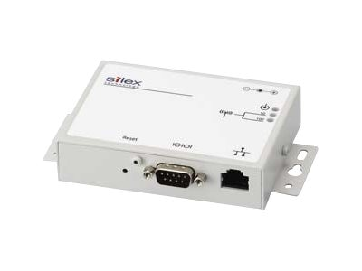 Silex Single Port Serial Device SVR RS232 DB9M 10 100, SX-520-0031, 18661552, Remote Access Servers