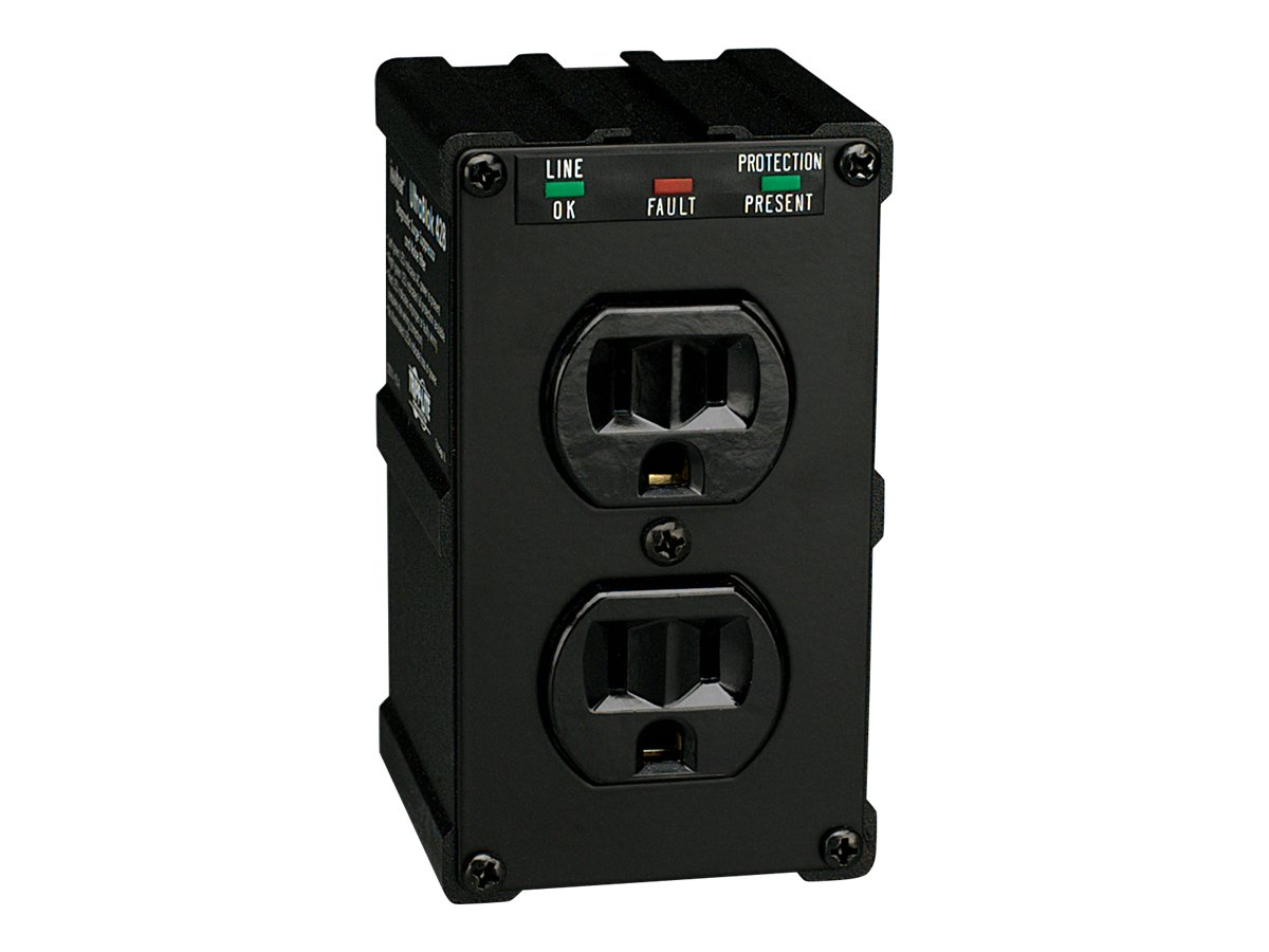 Tripp Lite Isobar Ultra Surge 15-Amp (2) Outlet Direct Plug-In 1410 Joules, ULTRABLOK428