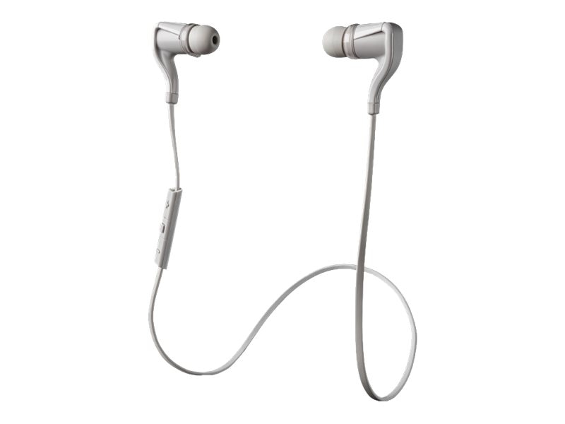 Plantronics BackBeat GO 2, White, 89800-01, 16188301, Headsets (w/ microphone)